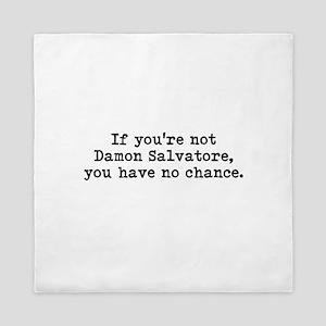 Damon Salvatore Queen Duvet