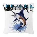 IAATBO! Woven Throw Pillow