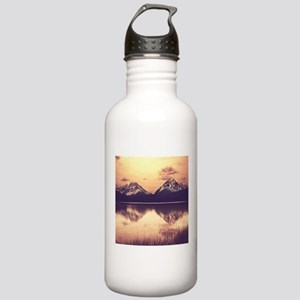 Canadian Mountains Stainless Water Bottle 1.0L
