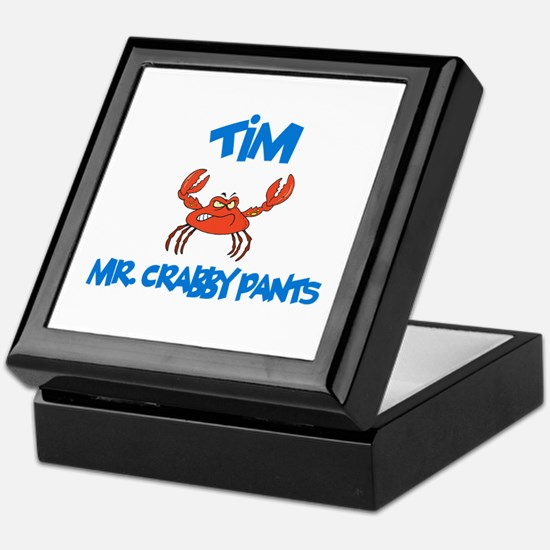 Tim - Mr. Crabby Pants Keepsake Box