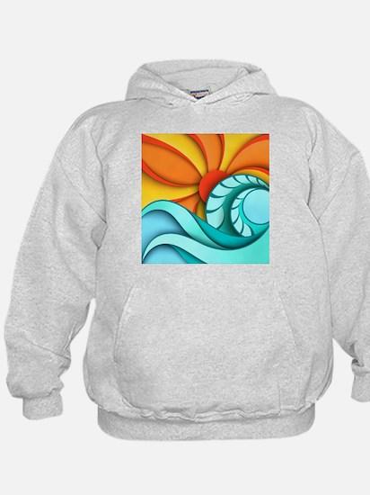 Sun and Sea Hoody