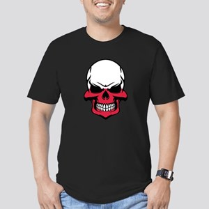 Polish Flag Skull T-Shirt