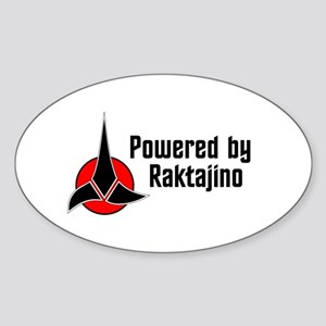 Powered by Raktajino, Klingon Coffee Sticker