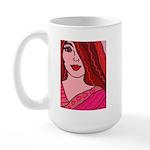 Valentine Girl Large Mug