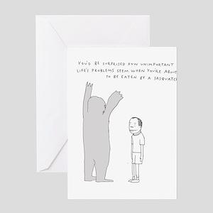Sasquatch Greeting Cards