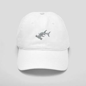 Tribal Hammerhead Shark Cap