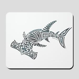 Tribal Hammerhead Shark Mousepad