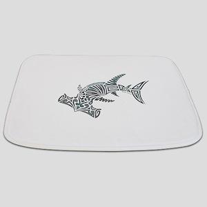 Tribal Hammerhead Shark Bathmat