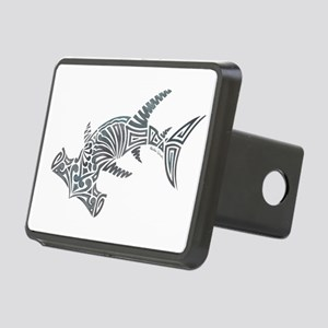 Tribal Hammerhead Shark Rectangular Hitch Cover