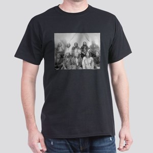 Lakota Indian Chiefs - Vintage Photo T-Shirt