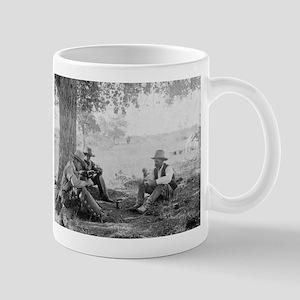 Cowboys Eating Dinner - Vintage Photo Mugs