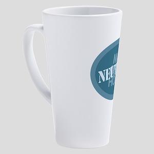 Man of the House - Neutered 17 oz Latte Mug