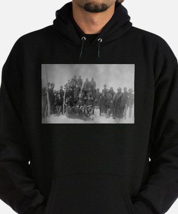 Black Buffalo Soldiers of the 25th Infantry Hoodie
