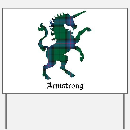 Unicorn - Armstrong Yard Sign