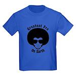 Greatest Fro On Earth Kids Dark T-Shirt