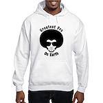 Greatest Fro On Earth Hooded Sweatshirt