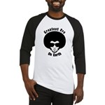 Greatest Fro On Earth Baseball Jersey