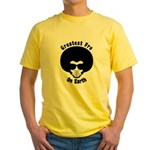 Greatest Fro On Earth Yellow T-Shirt
