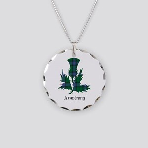 Thistle - Armstrong Necklace Circle Charm