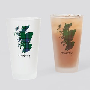 Map - Armstrong Drinking Glass