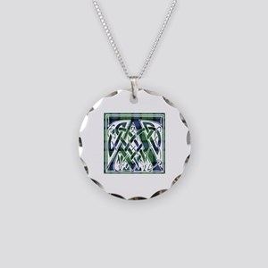 Monogram - Armstrong Necklace Circle Charm