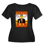 Support The War Against Terro Women's Plus Size Sc