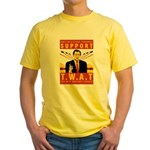Support The War Against Terro Yellow T-Shirt