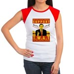 Support The War Against Terro Women's Cap Sleeve T