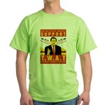 Support The War Against Terro Green T-Shirt