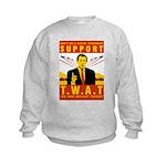 Support The War Against Terro Kids Sweatshirt