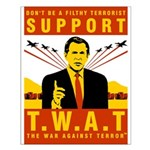Support The War Against Terro Small Poster