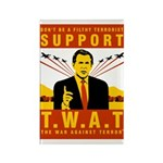 Support The War Against Terro Rectangle Magnet (10