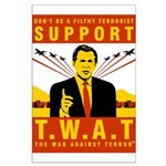 Support The War Against Terro Large Poster