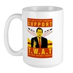 Support The War Against Terro Large Mug