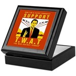 Support The War Against Terro Keepsake Box