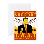 Support The War Against Terro Greeting Card