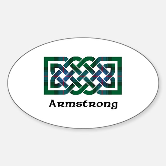 Knot - Armstrong Sticker (Oval)