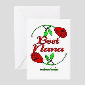 BEST NANA Greeting Card