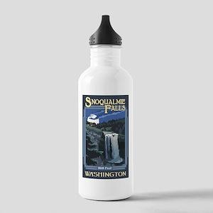 Snoqualmie Falls, Washington Water Bottle