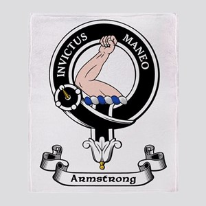 Badge - Armstrong Throw Blanket
