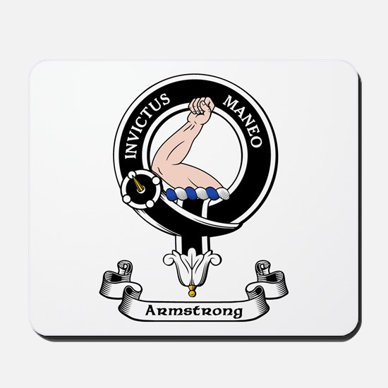 Badge - Armstrong Mousepad