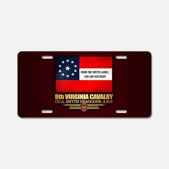 8th Virginia Cavalry Aluminum License Plate