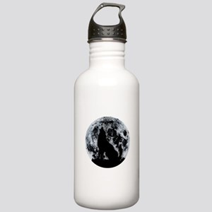 Wolf And Moon Stainless Water Bottle 1.0L