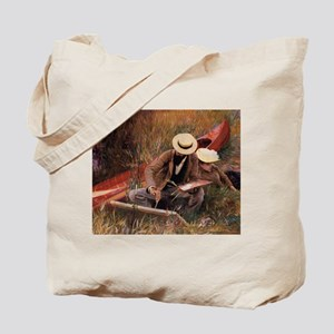 """""""Paul Helleu Sketching With His Wife"""" - Tote Bag"""