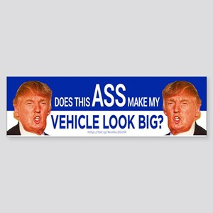 Does This Ass? Bumper Sticker