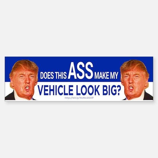 Does This Ass? Bumper Bumper Bumper Sticker