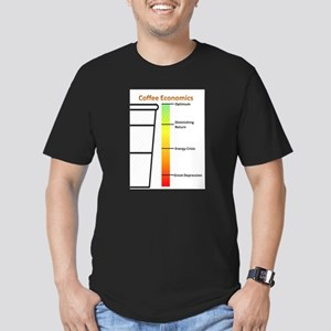 Coffee Economics w/ Cup (White) T-Shirt