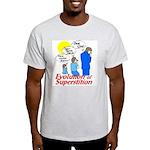 Evolution of Superstition Light T-Shirt