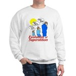Evolution of Superstition Sweatshirt