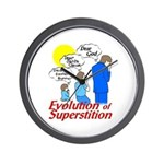 Evolution of Superstition Wall Clock